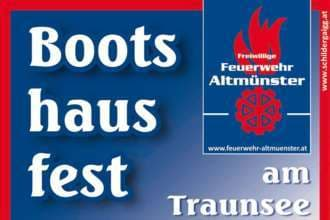 10. Bootshausfest am Traunsee