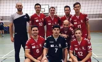 Die Waldviertler Volleyballer in Tirol