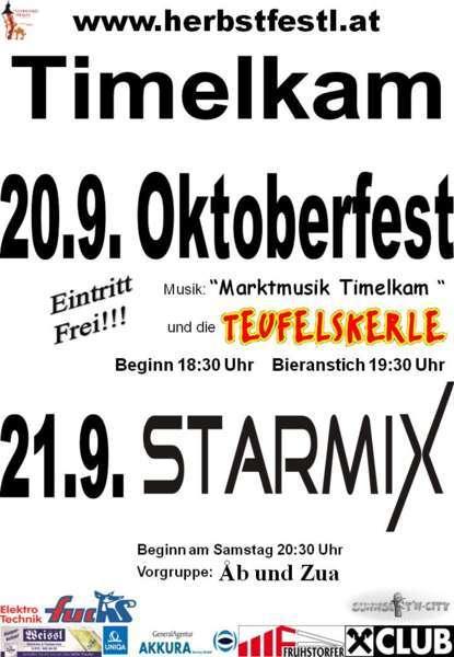Herbstfestl Timelkam - Bild 1