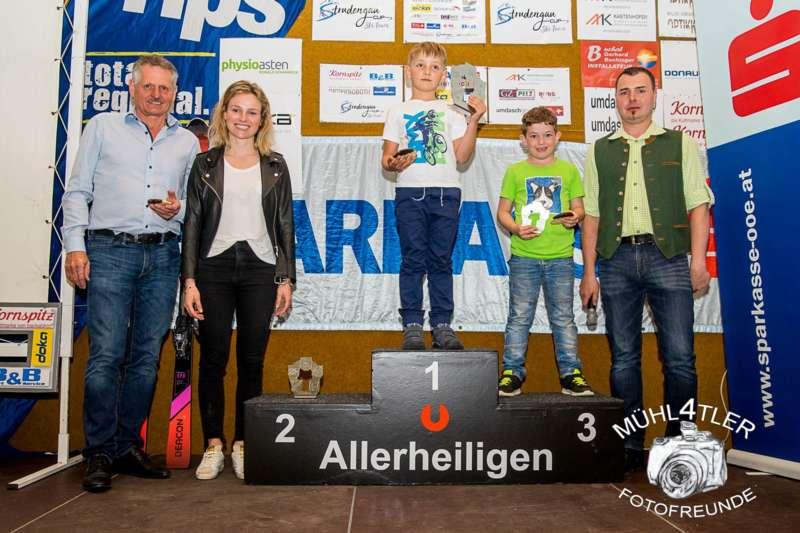 Gesamtsiegerehrung Sparkasse Strudengaucup powered by Tips mit Stargast Bernadette Schild  - Bild 16