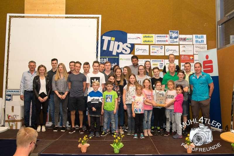 Gesamtsiegerehrung Sparkasse Strudengaucup powered by Tips mit Stargast Bernadette Schild  - Bild 58
