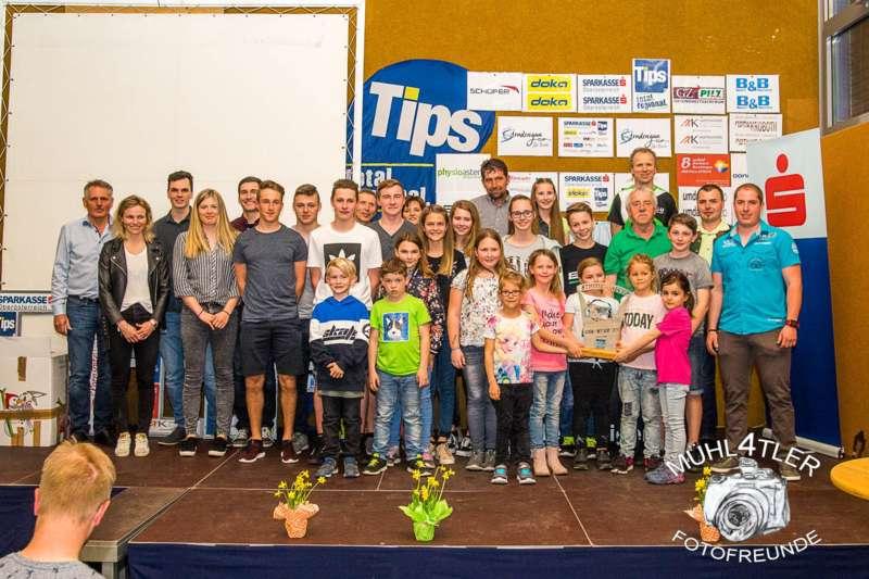 Gesamtsiegerehrung Sparkasse Strudengaucup powered by Tips mit Stargast Bernadette Schild  - Bild 66
