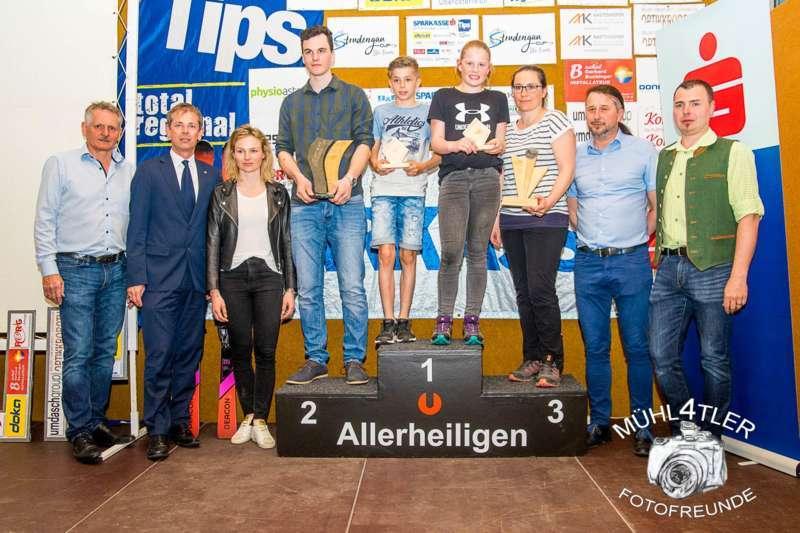 Gesamtsiegerehrung Sparkasse Strudengaucup powered by Tips mit Stargast Bernadette Schild  - Bild 78
