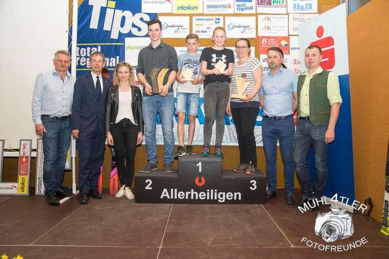 Gesamtsiegerehrung Sparkasse Strudengaucup powered by Tips mit Stargast Bernadette Schild  - Bild 84