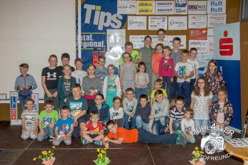 Gesamtsiegerehrung Sparkasse Strudengaucup powered by Tips mit Stargast Bernadette Schild  - Bild 117