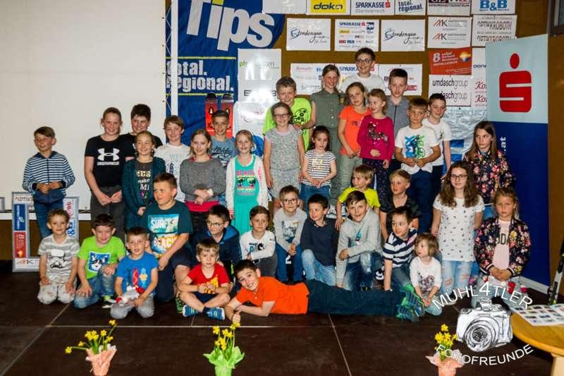 Gesamtsiegerehrung Sparkasse Strudengaucup powered by Tips mit Stargast Bernadette Schild  - Bild 142