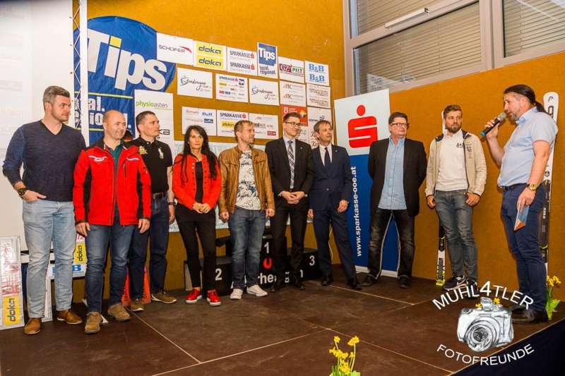Gesamtsiegerehrung Sparkasse Strudengaucup powered by Tips mit Stargast Bernadette Schild  - Bild 148