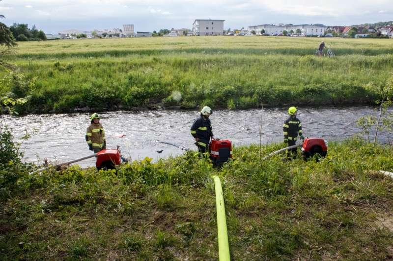 Frühjahrsübung der Freiwilligen Feuerwehr Perg am Gelände der Firma Bulmor - Bild 5