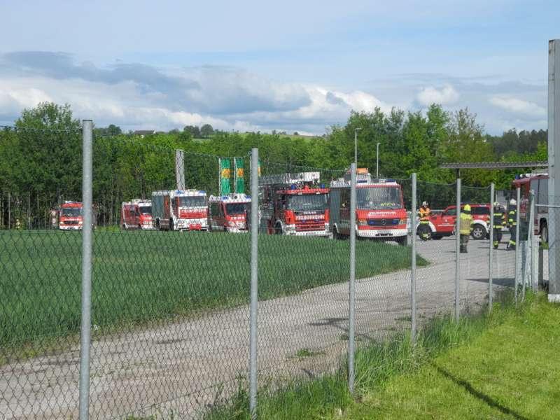Frühjahrsübung der Freiwilligen Feuerwehr Perg am Gelände der Firma Bulmor - Bild 6