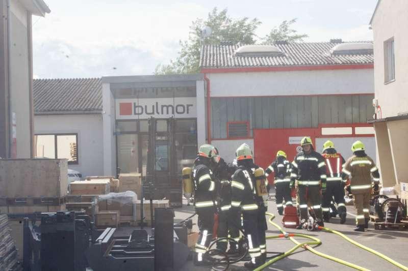 Frühjahrsübung der Freiwilligen Feuerwehr Perg am Gelände der Firma Bulmor - Bild 7