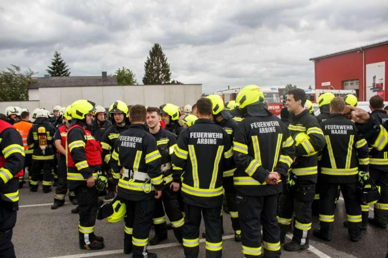 Frühjahrsübung der Freiwilligen Feuerwehr Perg am Gelände der Firma Bulmor - Bild 8