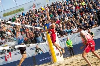 Pro Beach Battle: spannende Volleyball-Spiele und ein Rahmenprogramm zum Abfeiern