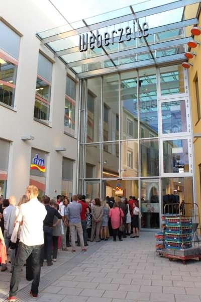 Weberzeile Ried, Eröffnungsfeier - Bild 2