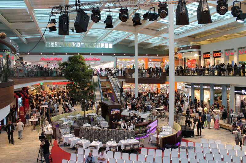 Weberzeile Ried, Eröffnungsfeier - Bild 6