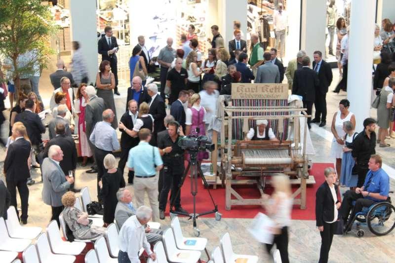 Weberzeile Ried, Eröffnungsfeier - Bild 8