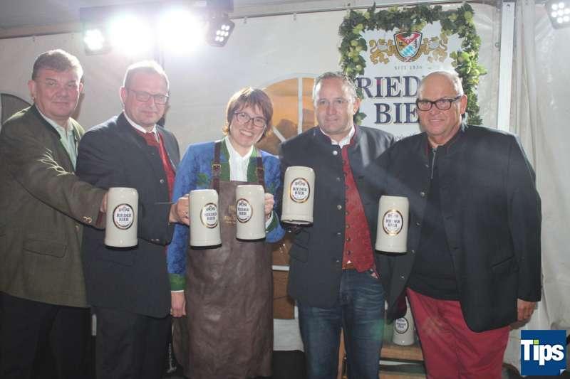 Bockbieranstich bei der Brauerei Ried - Bild 3