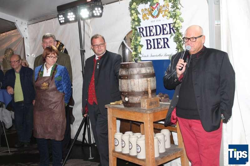 Bockbieranstich bei der Brauerei Ried - Bild 8