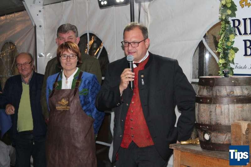 Bockbieranstich bei der Brauerei Ried - Bild 10