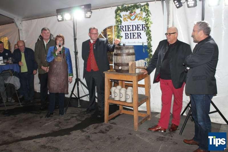Bockbieranstich bei der Brauerei Ried - Bild 12