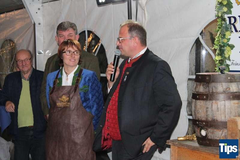 Bockbieranstich bei der Brauerei Ried - Bild 13