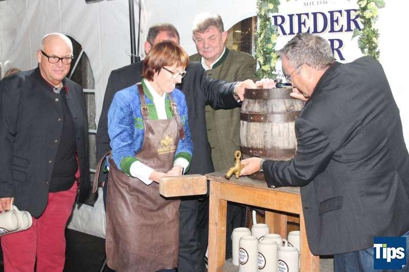 Bockbieranstich bei der Brauerei Ried - Bild 14