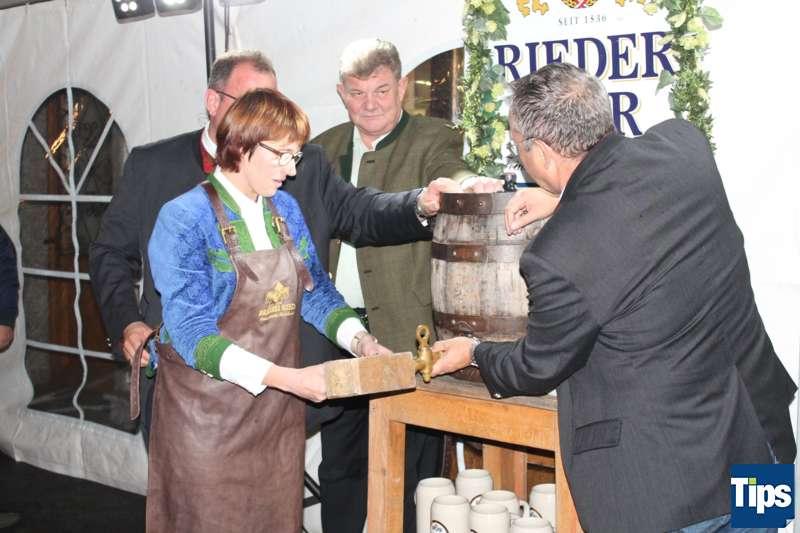 Bockbieranstich bei der Brauerei Ried - Bild 17