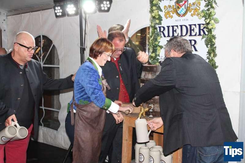 Bockbieranstich bei der Brauerei Ried - Bild 19