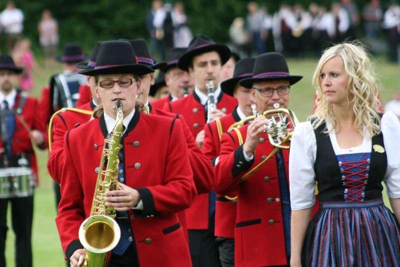 Bezirksmusikfest in Kleinzell - Bild 110