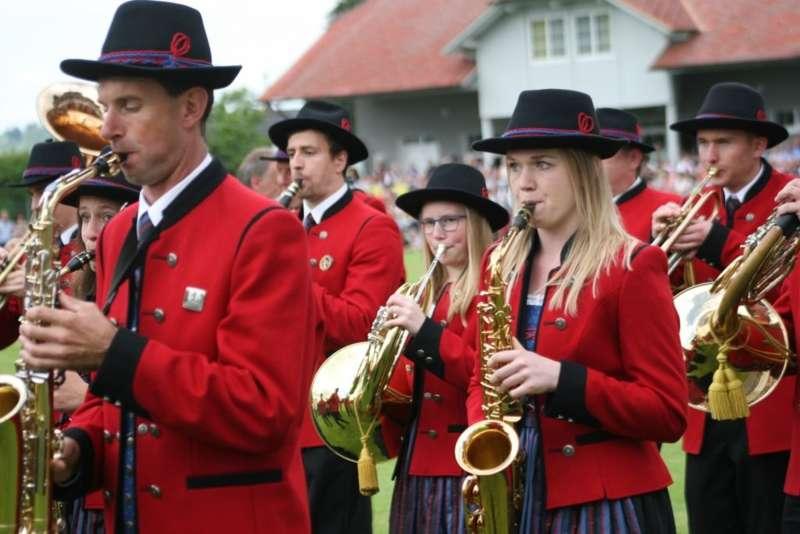 Bezirksmusikfest in Kleinzell - Bild 118