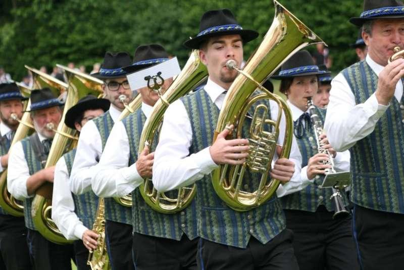 Bezirksmusikfest in Kleinzell - Bild 122