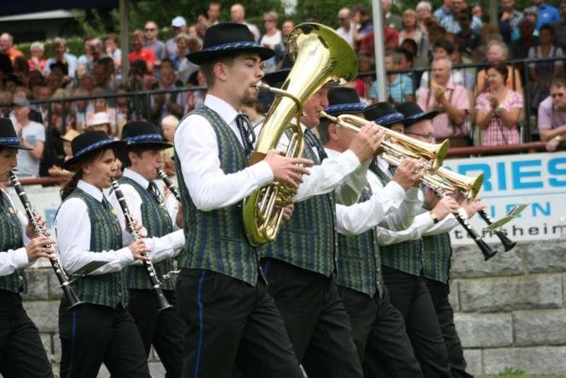 Bezirksmusikfest in Kleinzell - Bild 128