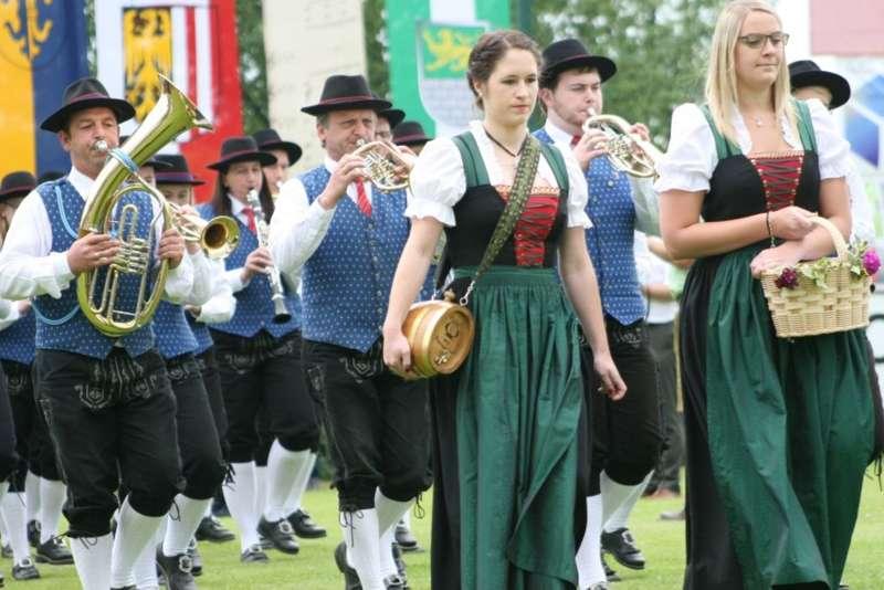 Bezirksmusikfest in Kleinzell - Bild 132