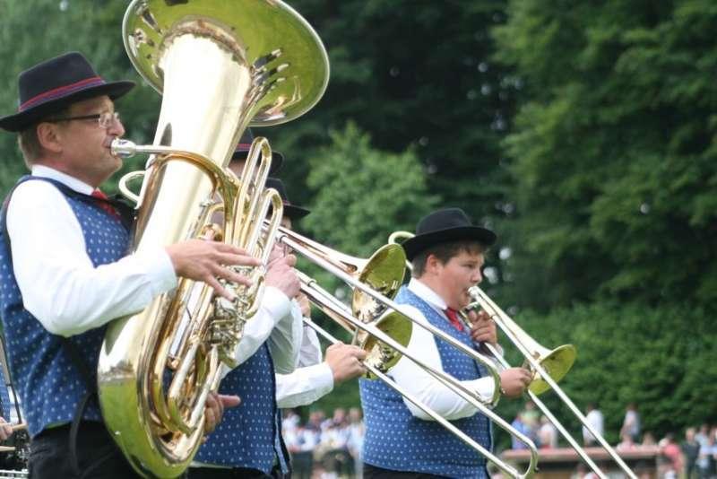 Bezirksmusikfest in Kleinzell - Bild 139