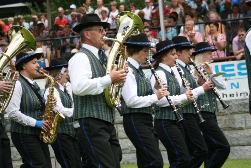 Bezirksmusikfest in Kleinzell - Bild 143