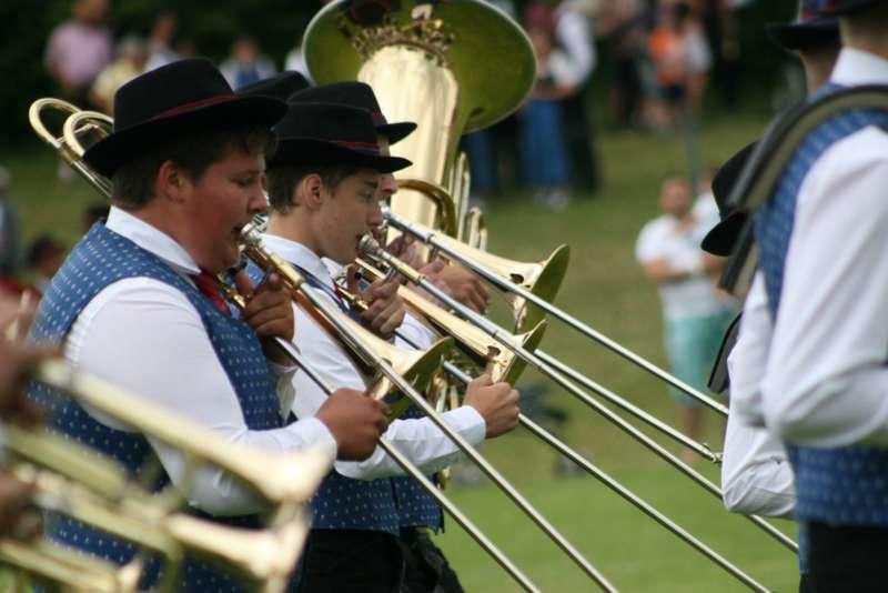 Bezirksmusikfest in Kleinzell - Bild 150