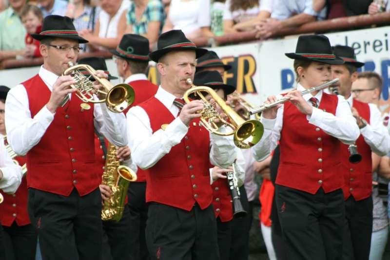 Bezirksmusikfest in Kleinzell - Bild 159