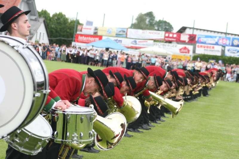 Bezirksmusikfest in Kleinzell - Bild 187