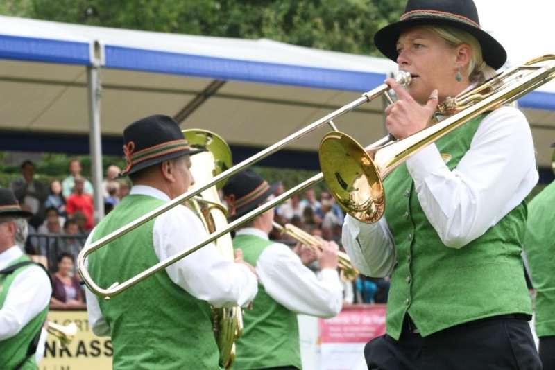 Bezirksmusikfest in Kleinzell - Bild 203