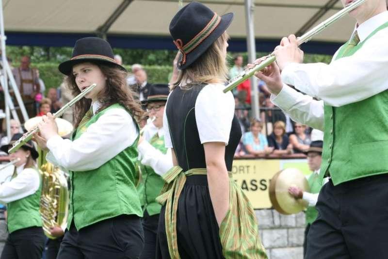 Bezirksmusikfest in Kleinzell - Bild 206