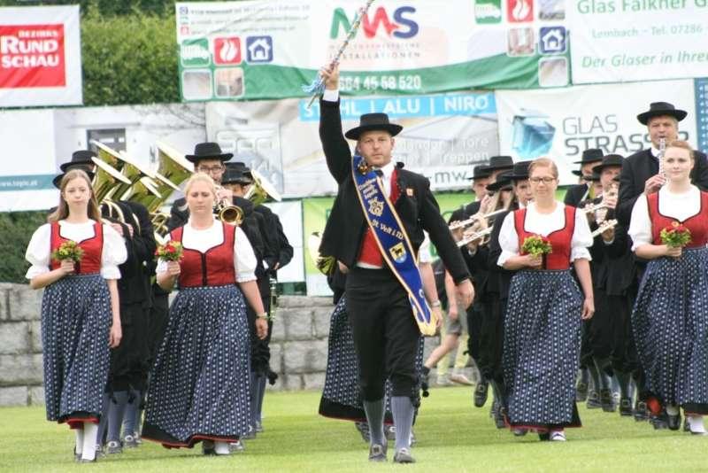 Bezirksmusikfest in Kleinzell - Bild 215