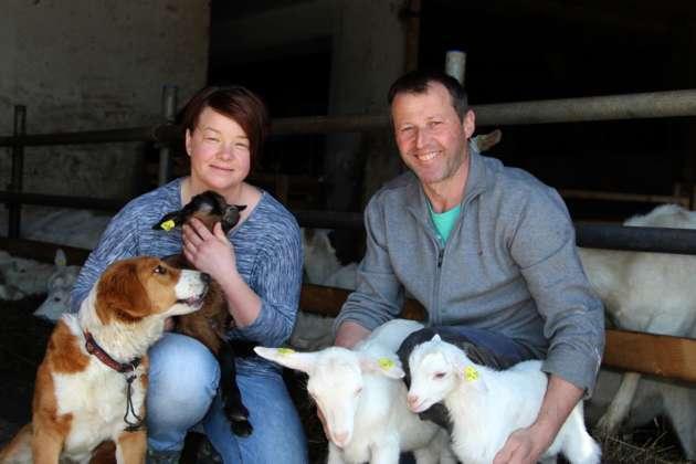 Von der Kuh zur Geiß - Esternberger Landwirtsehepaar