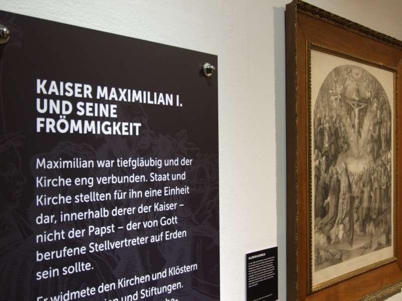 Rundgang durch die Maximilian-Ausstellung - Bild 13