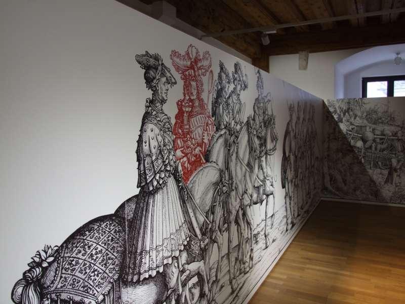Rundgang durch die Maximilian-Ausstellung - Bild 16