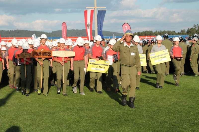 Schlussveranstaltung und Siegerehrung am FF-Landesbewerb Rainbach/Mkr. - Bild 36