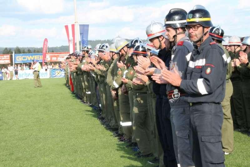 Schlussveranstaltung und Siegerehrung am FF-Landesbewerb Rainbach/Mkr. - Bild 69
