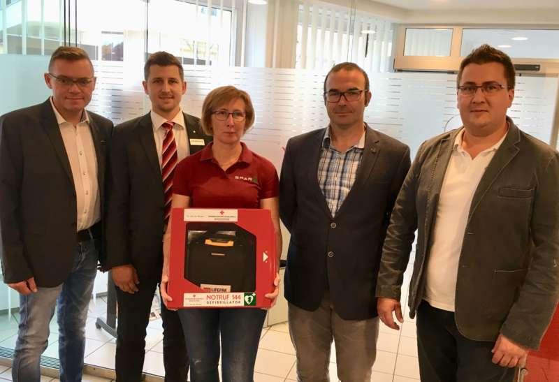 Defibrillator Fur Unterweissenbach Gesponsert