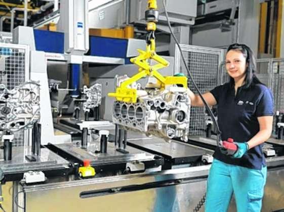 Beschäftigungsrekord im Steyr BMW-Werk