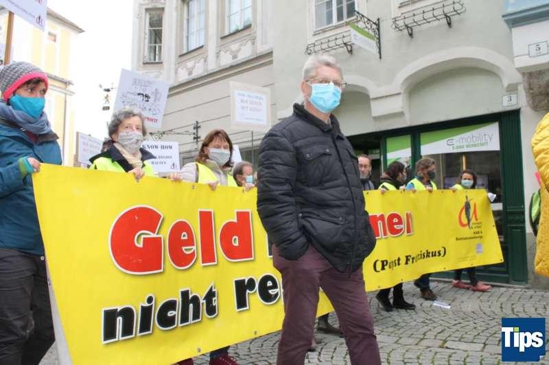 MAN Steyr: Warnstreik und Kundgebung - Bild 2
