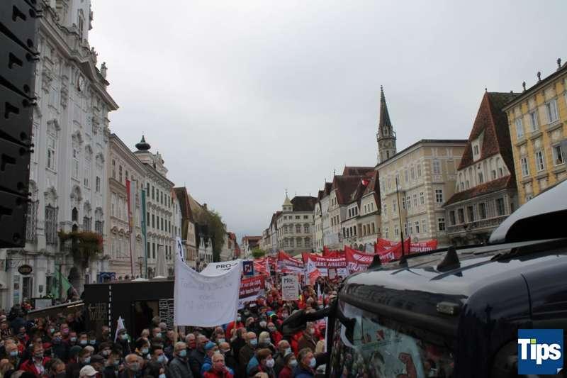 MAN Steyr: Warnstreik und Kundgebung - Bild 3