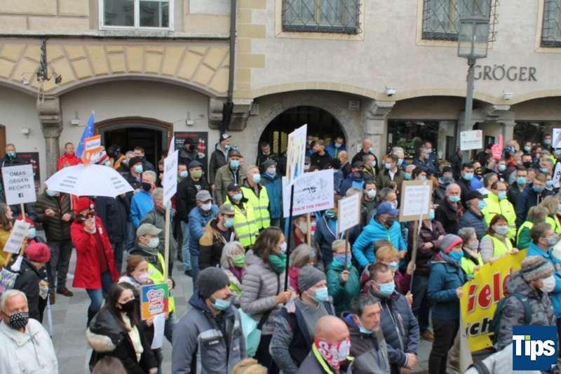 MAN Steyr: Warnstreik und Kundgebung - Bild 4